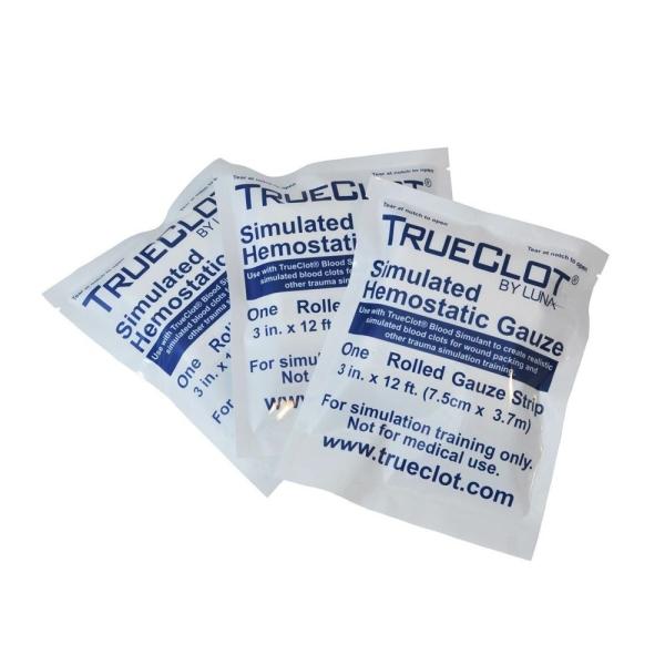 TrueClot® Trainingsgaze, z-gefaltet, 3 Stk
