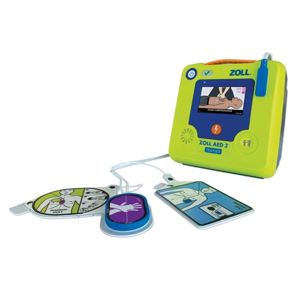 ZOLL AED 3 Trainer Trainingsgerät inkl. CPR Uni-padz Trainings-Elektrode