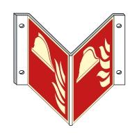Brandschutzzeichen: Mittel und Geräte zur Brandbekämpfung