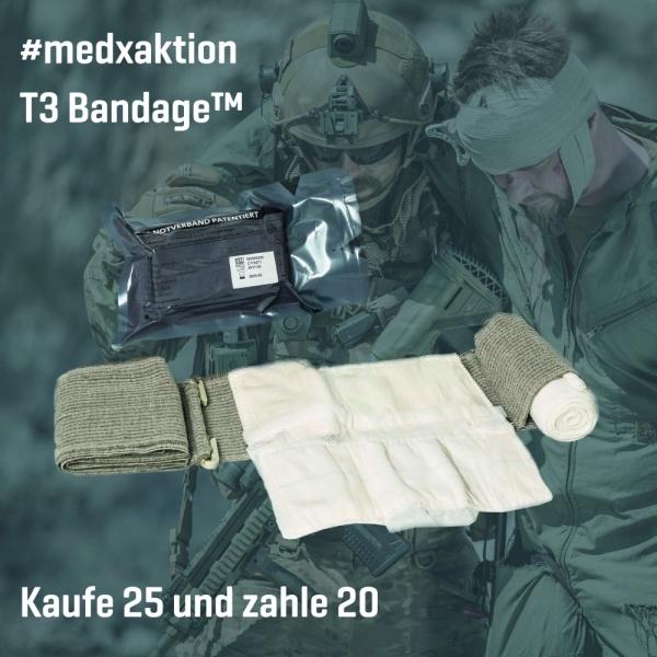 Aktion: T3 Bandage™, 25 Stk (zum Preis von 20 Stk)