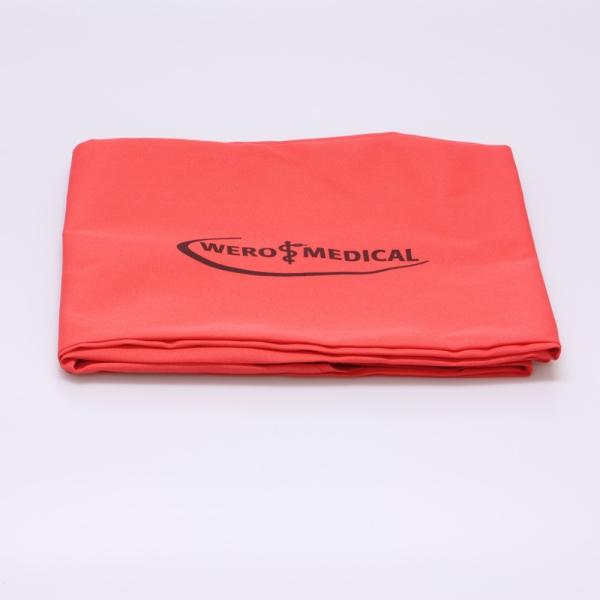 Schutzhülle aus Kunststoff für Krankentrage N gemäß DIN 13024 Bild 1