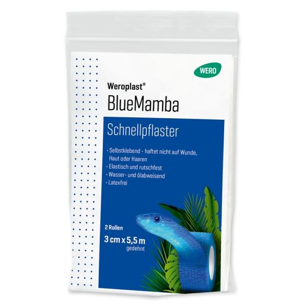 Schnellpflaster Weroplast® BlueMamba
