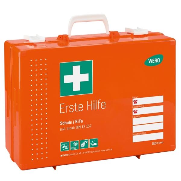 Werotop® 450 Erste Hilfe Koffer Schule / KiTa DIN 13157