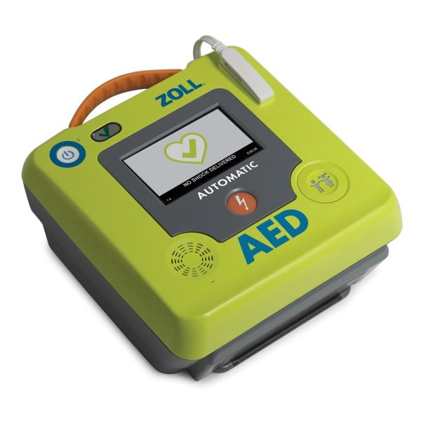 ZOLL AED 3, Vollautomat, mit Farb-Touchscreen, ohne Sprachaufzeichnung