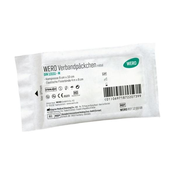 WERO Verbandpäckchen DIN 13151 M, steril