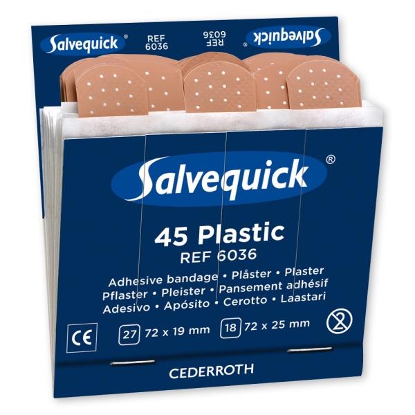 Salvequick® Pflasterstrips, wasserabweisend (6036)