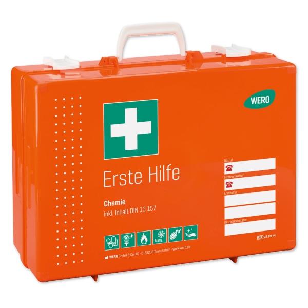 Werotop® 450 Erste Hilfe Koffer Chemie DIN 13157