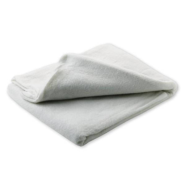 Einmal-Decke, Vlies, weiß
