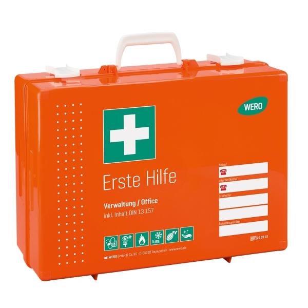 Werotop® 450 Erste Hilfe Koffer Verwaltung / Office DIN 13157