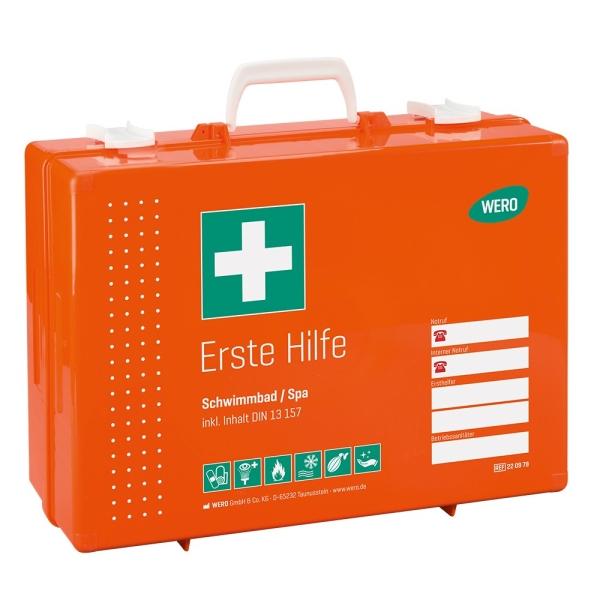 Werotop® 450 Erste Hilfe Koffer Schwimmbad / Spa DIN 13157 Bild 1