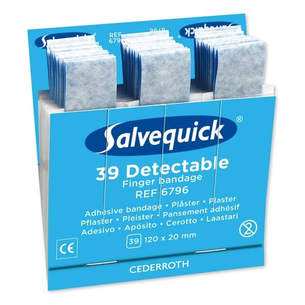 Salvequick® Fingerpflaster, detektierbar (6796)