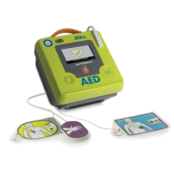 Defibrillator-Set ZOLL AED 3, Vollautomat