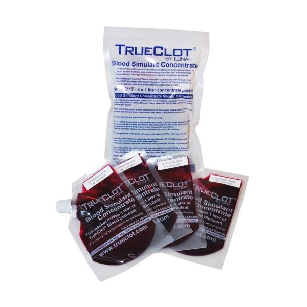 TrueClot® Kunstblutkonzentrat, 4 x 1l