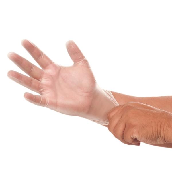 Infektionsschutzhandschuhe WERO DuraLine® Vinyl, puderfrei