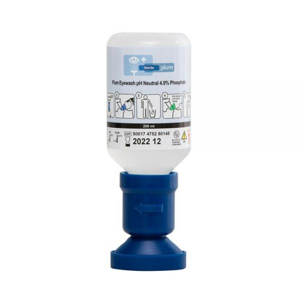 PLUM-Augenspülflasche 200 ml gepuffert