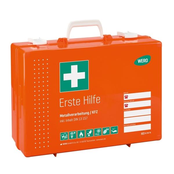 Werotop® 450 Erste Hilfe Koffer Metallverarbeitung / KFZ DIN 13157