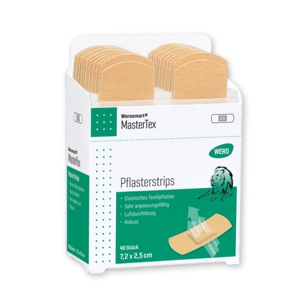 Werosmart® MasterTex Pflasterspender-Einsätze Pflasterstrips 7,2 x 2,5 cm