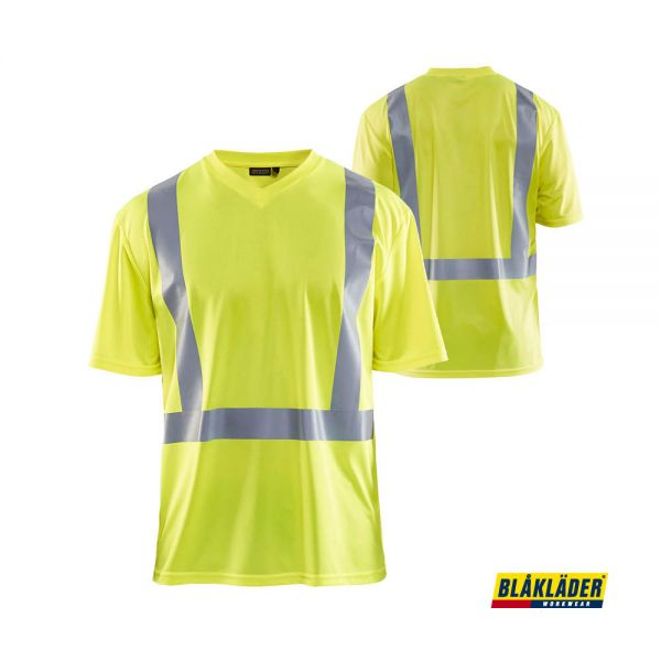 BLÅKLÄDER® UV T-Shirt High Vis