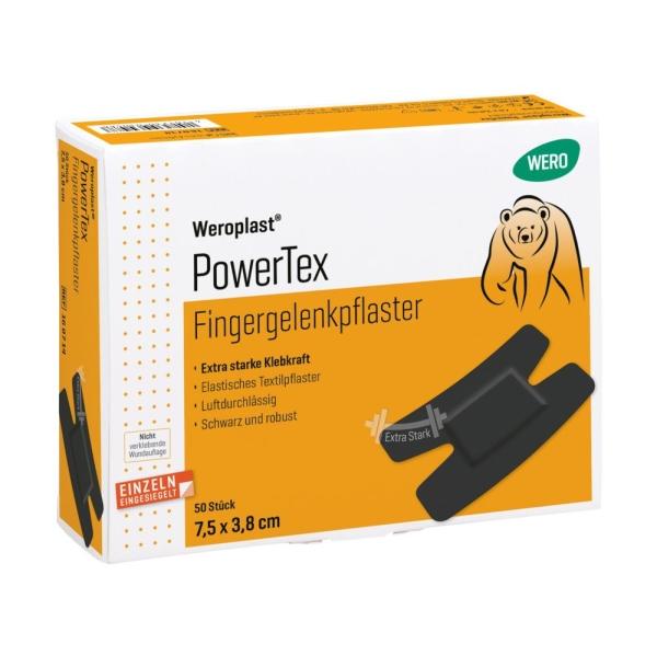 Fingergelenkpflaster Weroplast® BlackPower