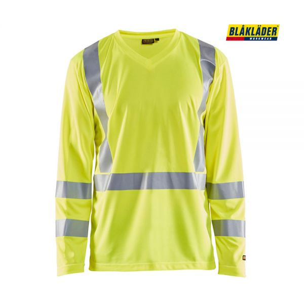 BLÅKLÄDER® UV Shirt High Vis Langarm