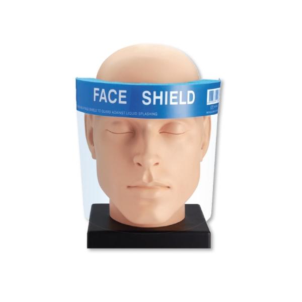 Gesichtsschutzschild nach EN 166