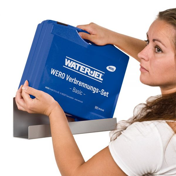 Wandhalterung für WERO Verbrennungs-Set (Koffer)