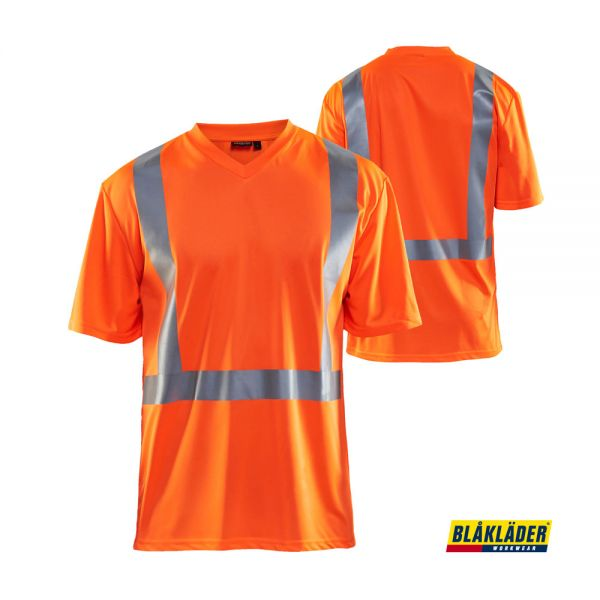 BLÅKLÄDER® UV T-Shirt High Vis Orange