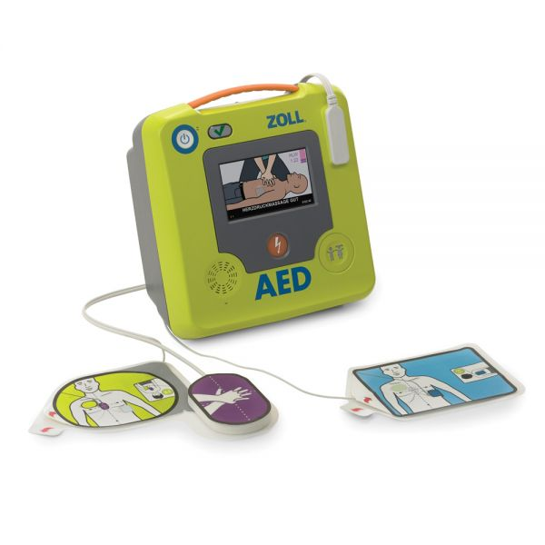 Defibrillator-Set ZOLL AED 3, Halbautomat