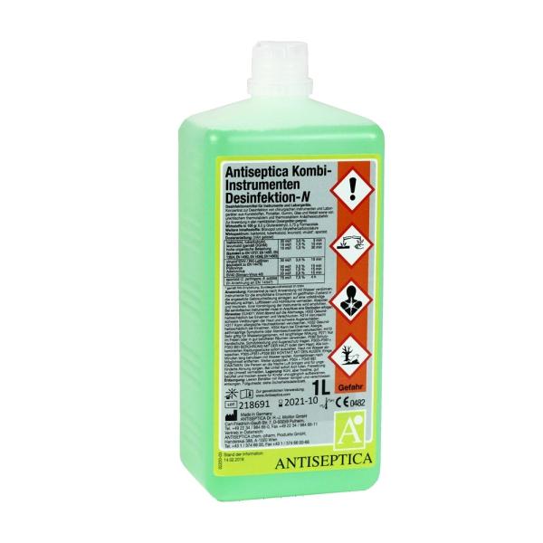 ANTISEPTICA Kombi-Instrumenten Desinfektion-N, 1000 ml