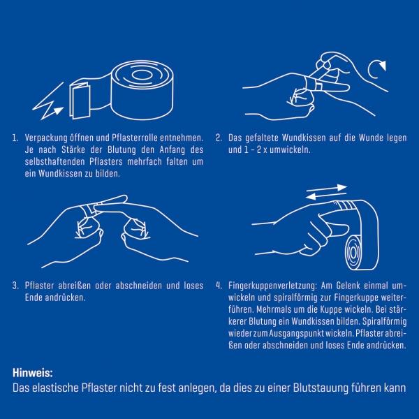 Schnellpflaster Weroplast® BlueMamba Bild 7