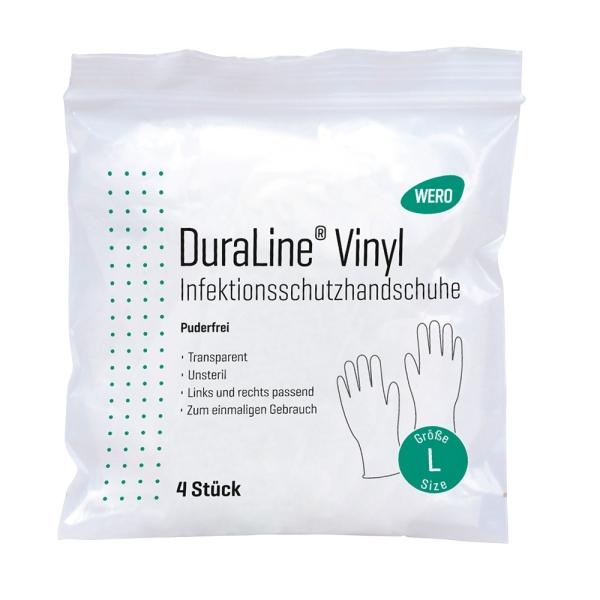 Infektionsschutzhandschuhe WERO DuraLine® Vinyl, puderfrei Bild 2
