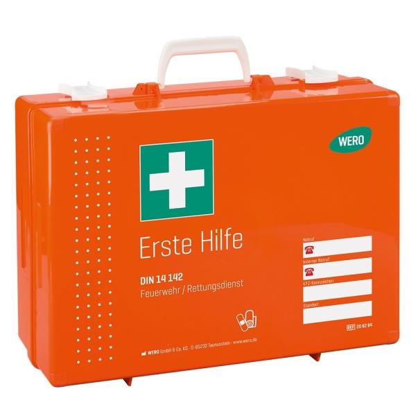 Erste Hilfe Koffer Werotop® 450 DIN 14142:2018