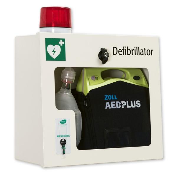 AED-Wandschrank, leer