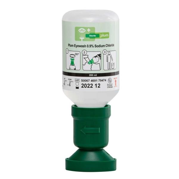PLUM-Augenspülflasche 200ml NaCl