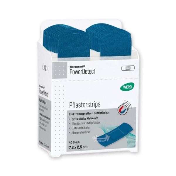 Werosmart® PowerDetect Pflasterspender-Einsätze Pflasterstrips 7,2 x 2,5 cm