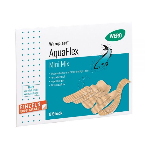 Pflasterset Weroplast® AquaFlex Mini Mix, 8 tlg Bild 1