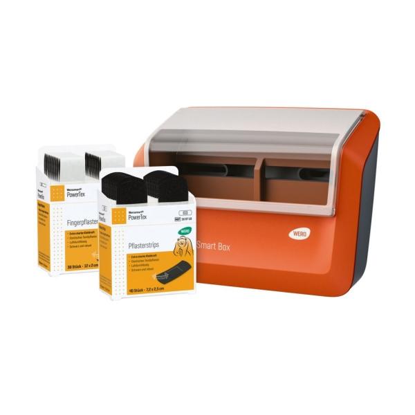 160732-01-WERO-Smart-Box-Pflasterspender-BlackPower-Pflaster
