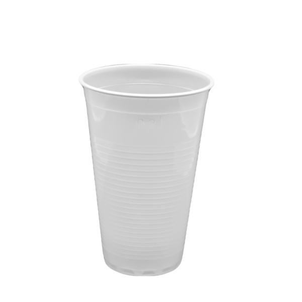 Einmal-Trinkbecher aus Kunststoff, 0,2 Liter