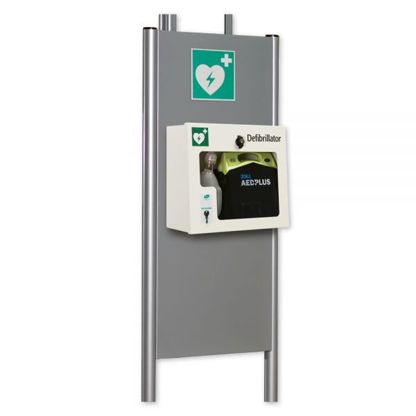 """Modul """"Defibrillation"""" für WERO Rettungssäule"""