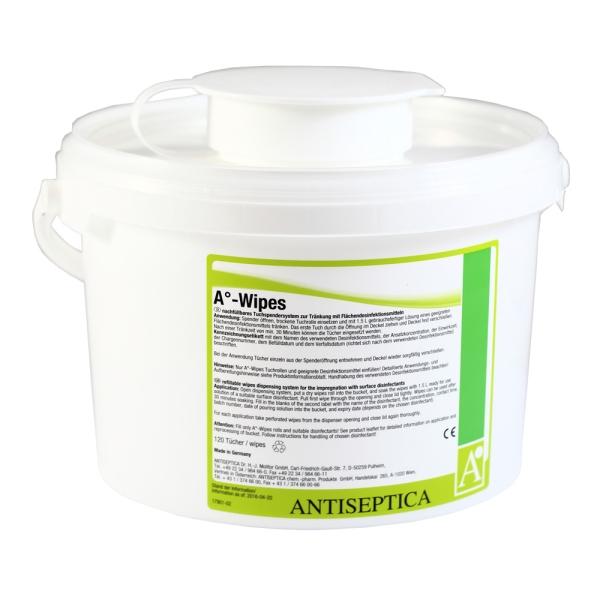 Trockene Vliestücher Antiseptica A°-Wipes
