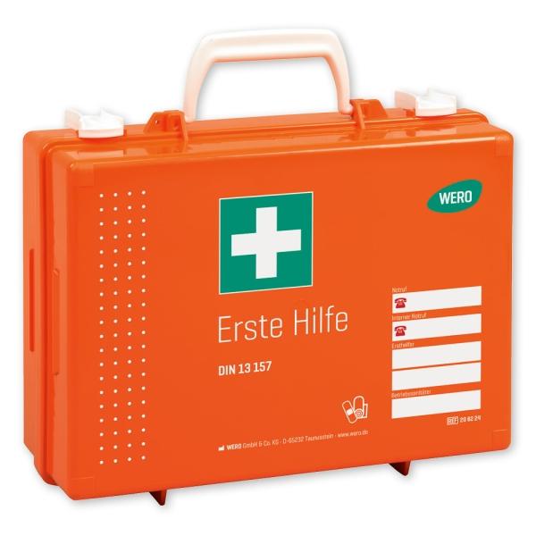 Werotop® 350 Erste Hilfe Koffer mit DIN-Basisfüllung DIN 13157