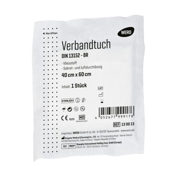 Verbandtuch DIN 13152, steril