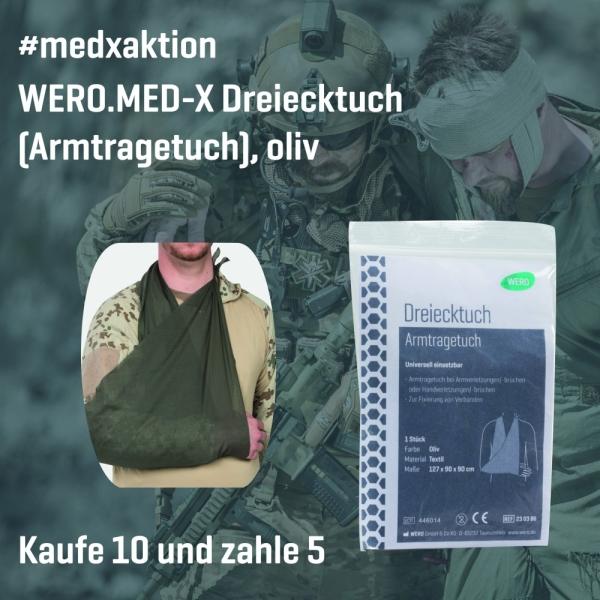 Aktion: WERO.MED-X Dreiecktuch (Armtragetuch), 10 Stk (zum Preis von 5 Stk)