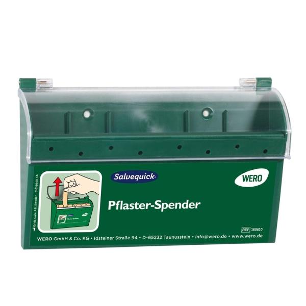 Salvequick® Sofortpflaster-Spender CLASSICBOX – die Robuste, leer