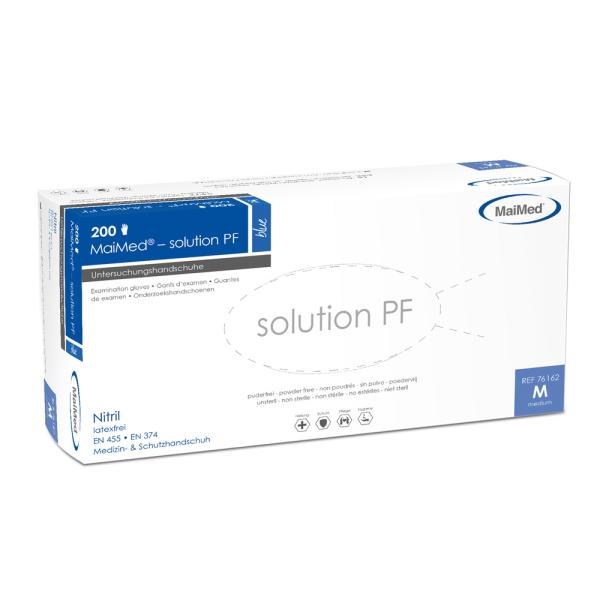 Nitril-Einmalhandschuhe solution PF, 200 Stk