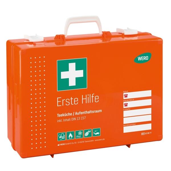 Werotop® 450 Erste Hilfe Koffer Teeküche / Aufenthaltsraum DIN 13157