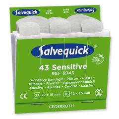 Salvequick® Pflasterstrips, Vlies
