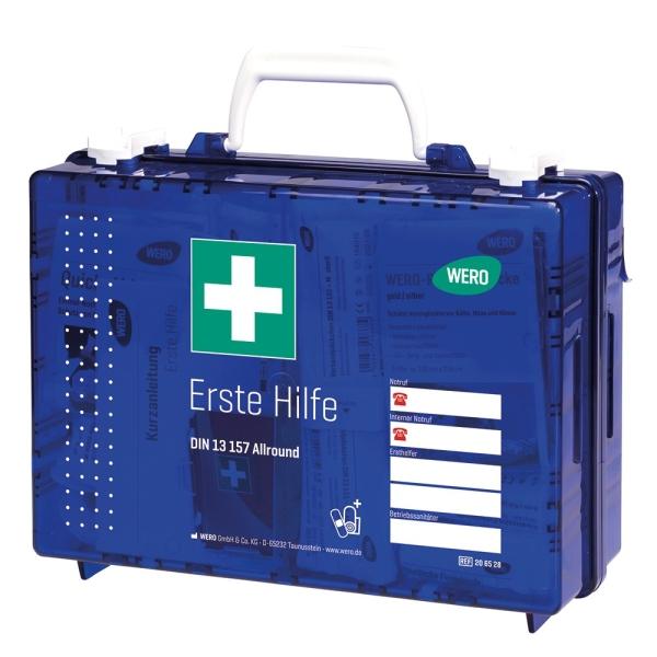 Werotop® clear Erste Hilfe Koffer DIN 13157