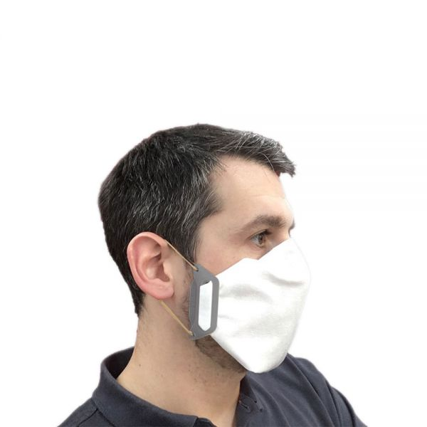Flexible Mund-Nasen-Maske: mask4all