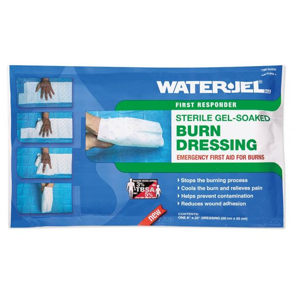 WATER-JEL® HA First Responder Handkompresse, steril
